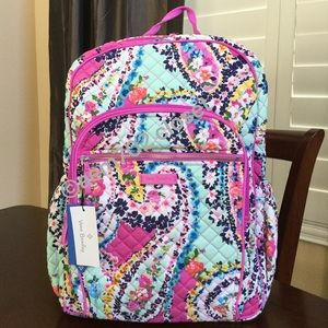 NWT VERA BRADLEY ICONIC CAMPUS BACKPACK